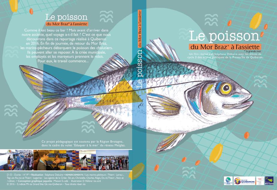 Jaquette DVD Le poisson de Mor Braz à l'assiette