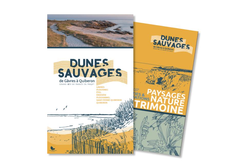 Dunes Sauvages Brochure dépliant 2017