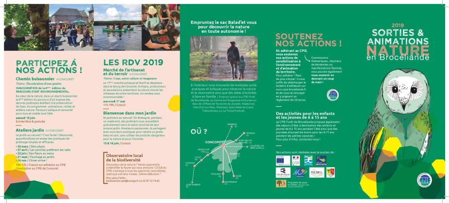 Sorties Nature 2019 organisées par le CPIE Forêt de Brocéliande